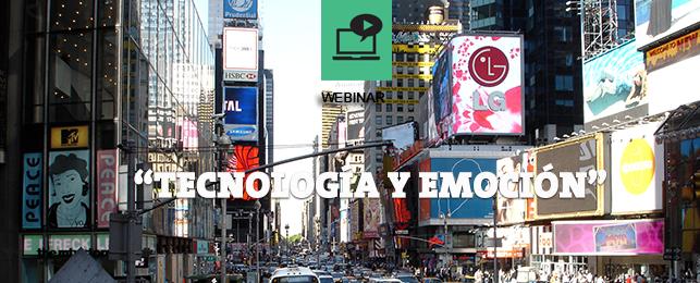 webinar Tecnología y Emoción