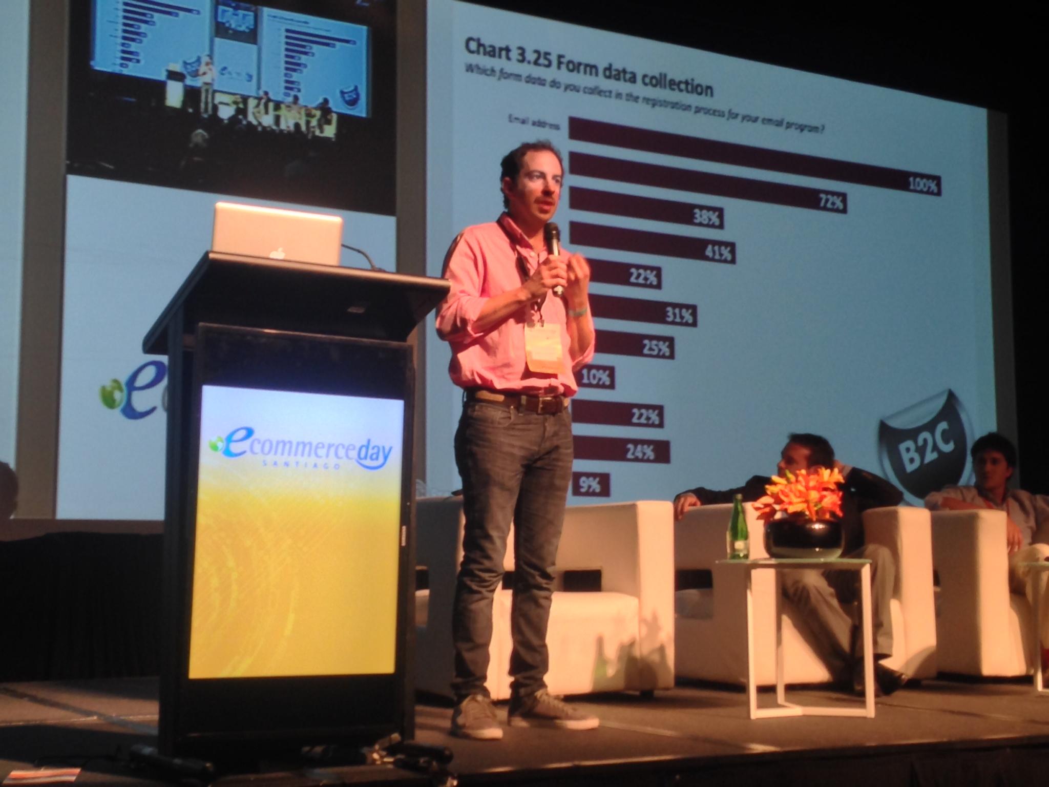 Daniel Soldan, en el eCommerce Day