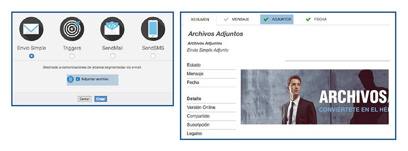 Feature Archivos Adjuntos para Envíos Simples