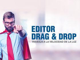 Editor Drag & Drop – Trabaja a la velocidad de la luz