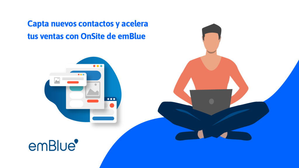 Capta nuevos contactos y acelera tus ventas con OnSite de emBlue