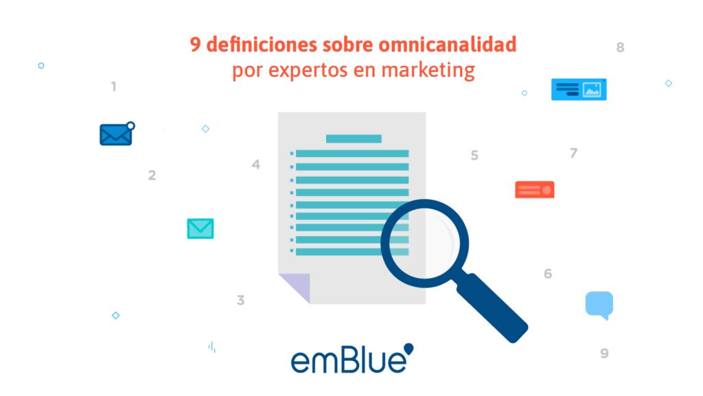 9 definiciones sobre omnicanalidad por expertos en marketing