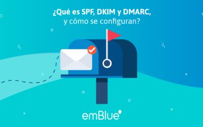 ¿Qué es SPF, DKIM y DMARC, y cómo se configuran?