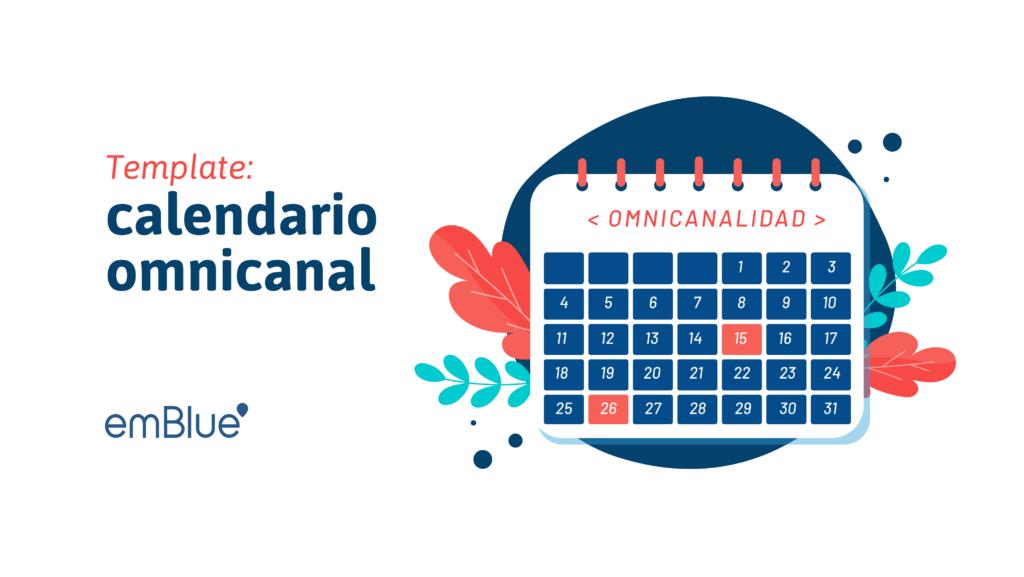 template calendario omnicanal de emblue