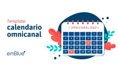 Template: calendario omnicanal
