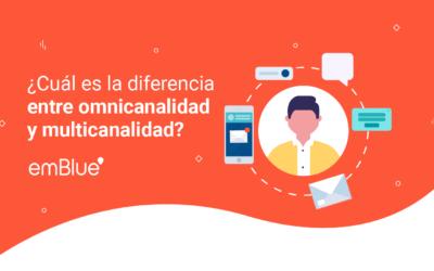 ¿Cuál es la diferencia entre omnicanalidad y multicanalidad?