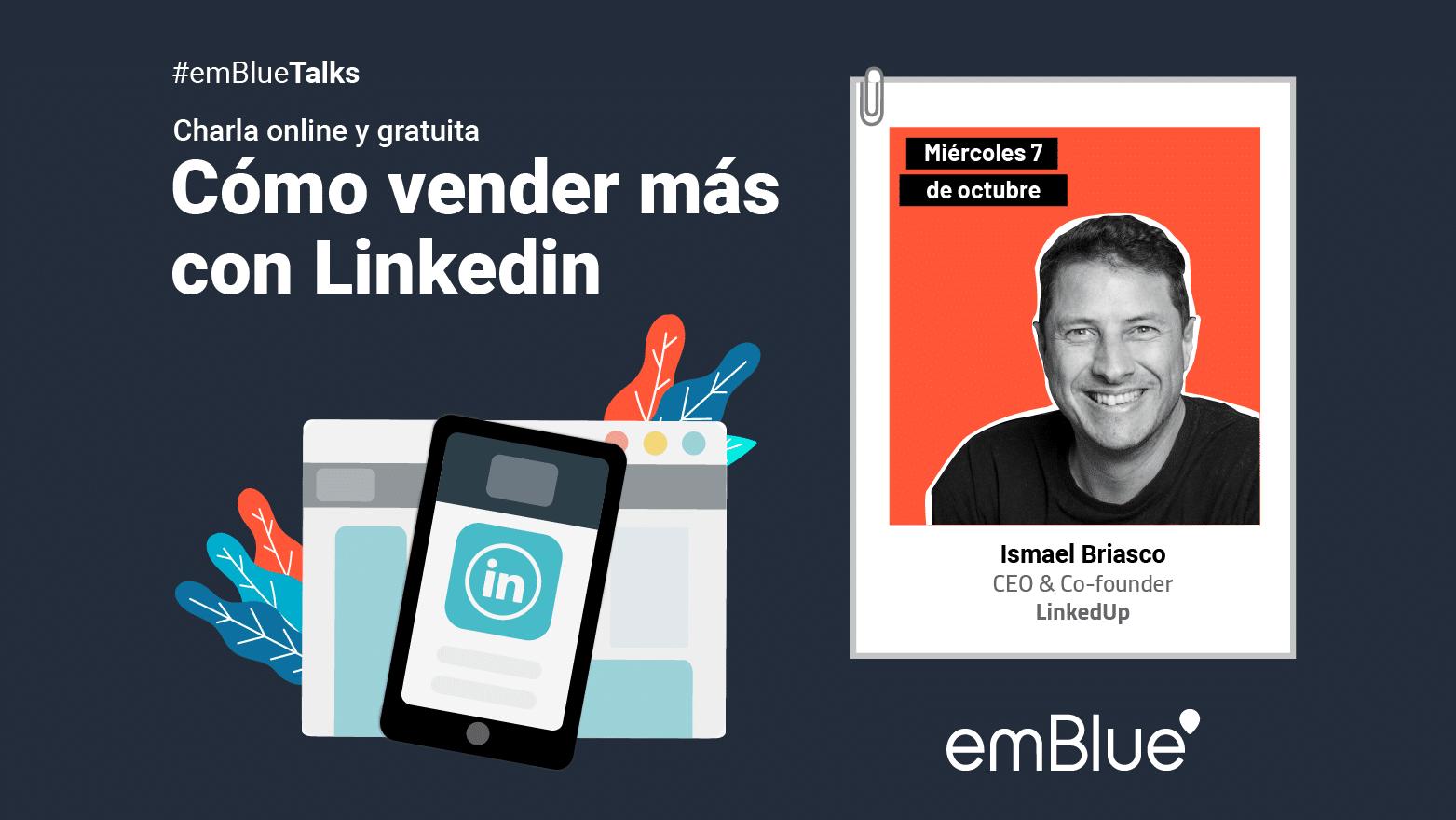 #emBlueTalks: Cómo vender más con Linkedin