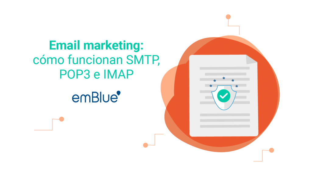 Email marketing: cómo funcionan SMTP, POP3 e IMAP