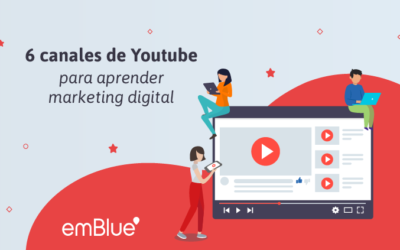 6 canales de Youtube para aprender marketing digital