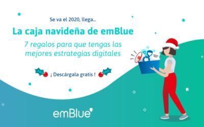 7 herramientas para mejorar tu estrategia digital 2021: ¡llegó la caja navideña de emBlue!