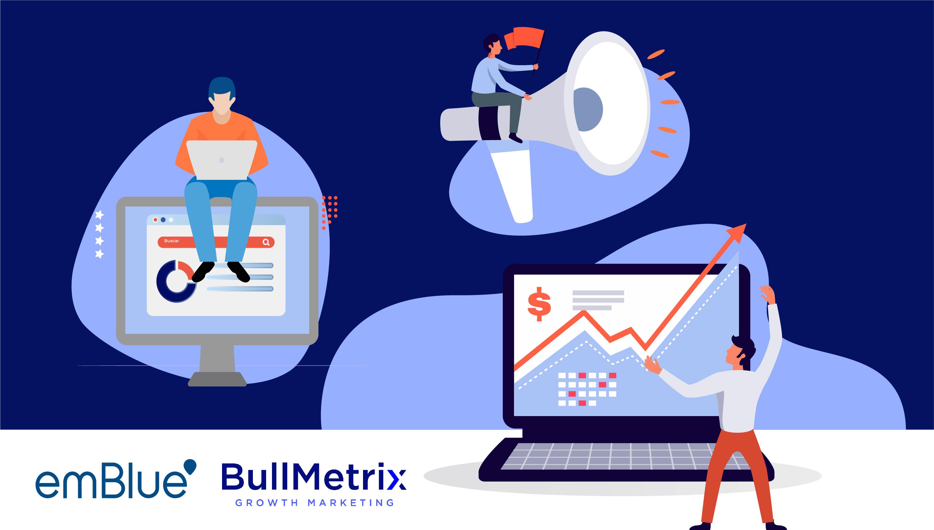 aceleración digital emblue y bullmetrix